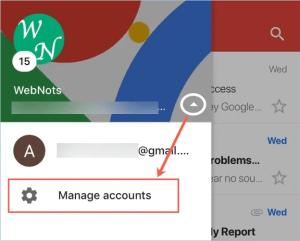 Управление несколькими учетными записями Gmail в приложении для iOS