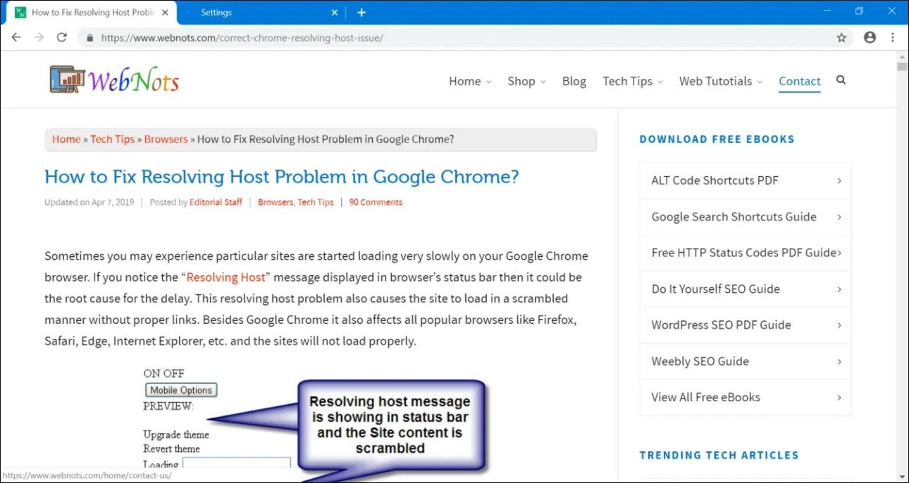 100% масштабирование в Chrome