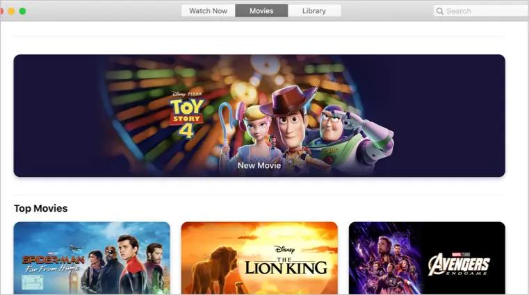 Приложение Apple TV Videos
