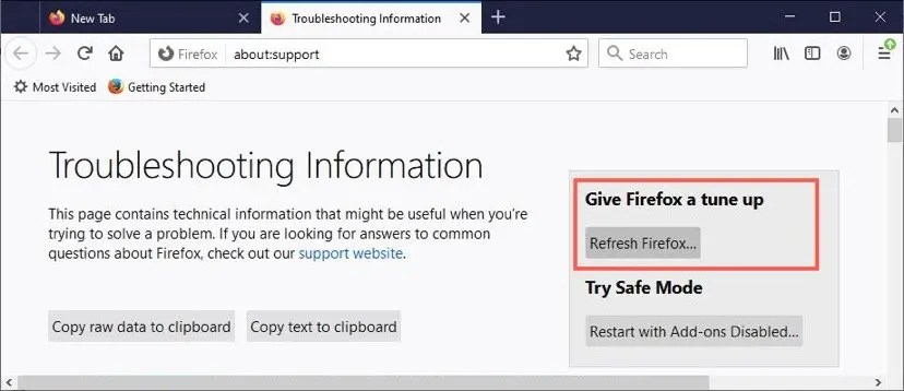 Настройте Firefox