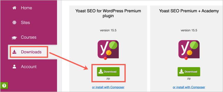 Скачать плагин Yoast SEO Premium
