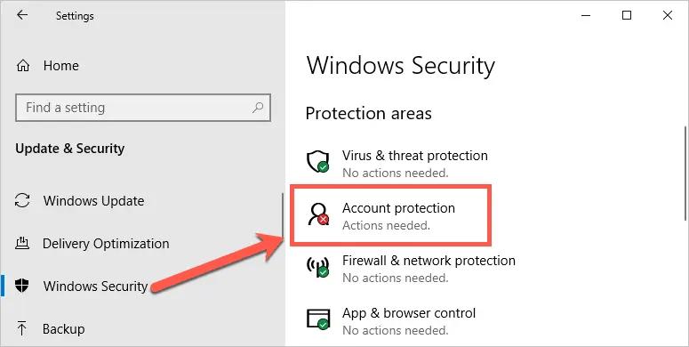 Проверить безопасность Windows