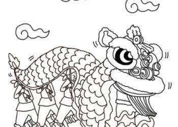 Raccolta di immagini da colorare drago per ragazzi
