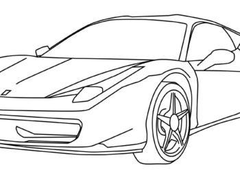 Más de 50 mejores plantillas para colorear de automóviles