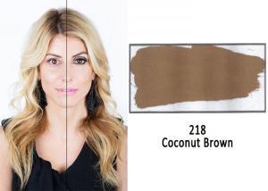 lighten tattoo eyebrow color dark brown hairs