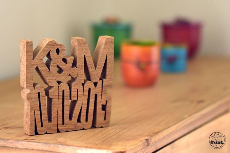Hochzeitsgeschenk aus Holz  das perfekte Hochzeitsgeschenk