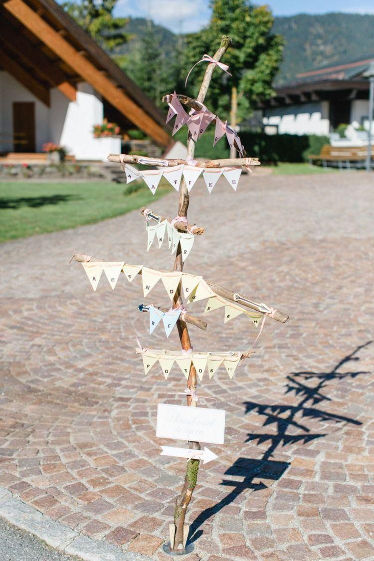 Heiraten in Tirol  detailsverliebte Traumhochzeit im DIY Stil