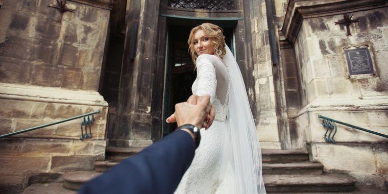 Kirche  heiraten in einer katholischen  orthodoxen Kirche