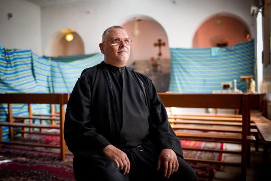 Pater Petzold kam ursprünglich als Rucksacktourist in den Nahen Osten
