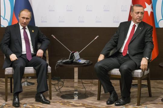 Der türkische Staatspräsident Recep Tayyip Erdogan würde gern mit Wladimir Putin sprechen