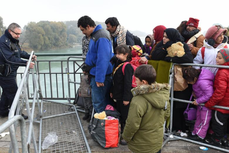 Flüchtlinge abgewiesen