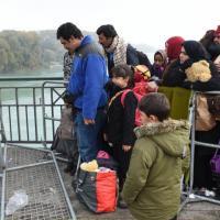 Geburtsort von Adolf Hitler: Bundespolizei schickt Flüchtlinge zurück nach Österreich