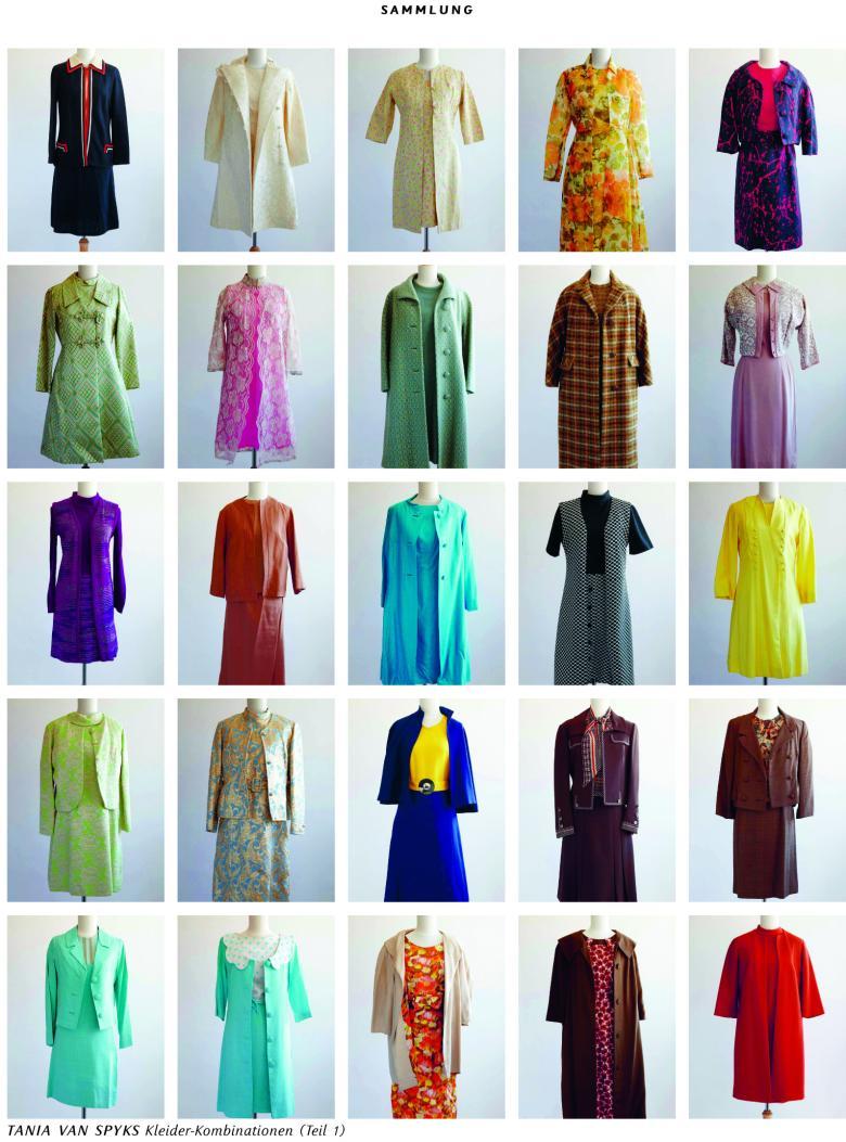 Mode hat was zu erzählen: Kleider-Kombinationen von Tania van Spyks, einer der 561 Mitautorinnen