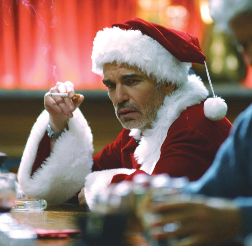 WS Ku Christmas films 12122020 BAD SANTA [US 2003] BILLY BOB THORNTON Date: 2003 (Mary Evans Picture Library) ||  For editorial use only