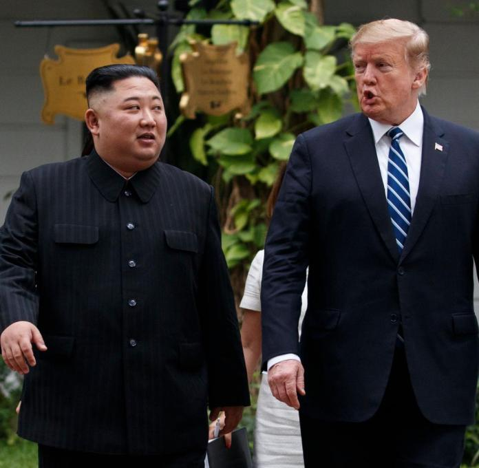 Trump's second meeting with North Korean ruler Kim Jong-un in Hanoi ended prematurely and without result