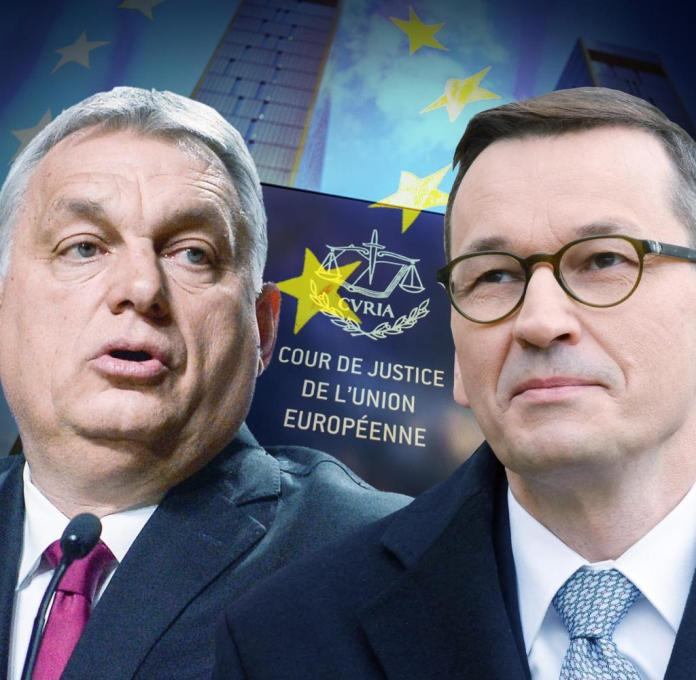 Mateusz Morawiecki and Viktor Orbán on a collision course with the EU