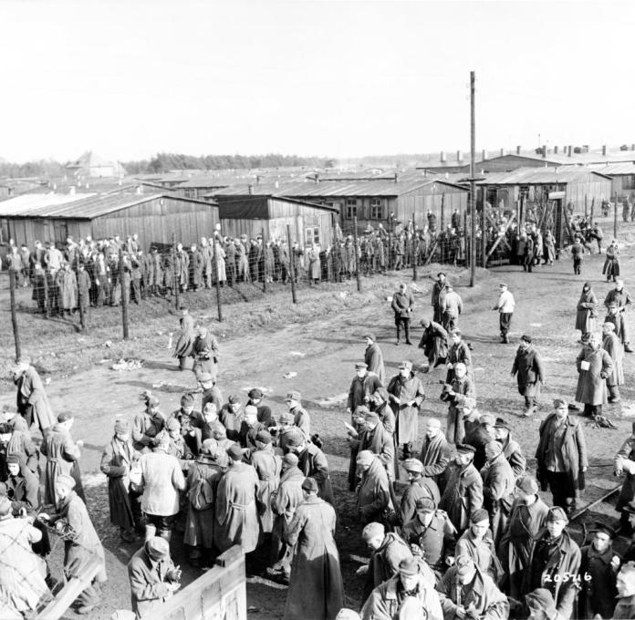 "Around 30,000 Red Army soldiers died in German captivity in the ""Stalag 326"" prisoner-of-war camp in Stukenbrock."