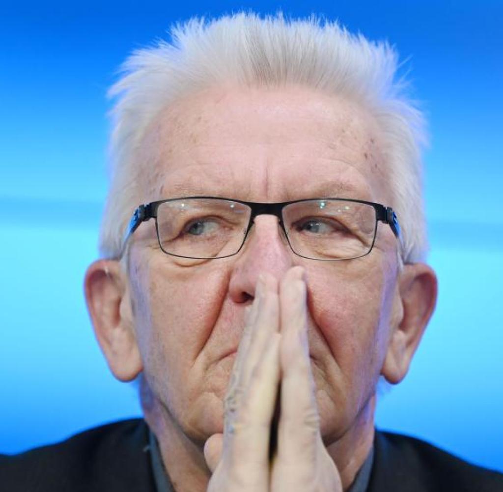 corona politik winfried kretschmann