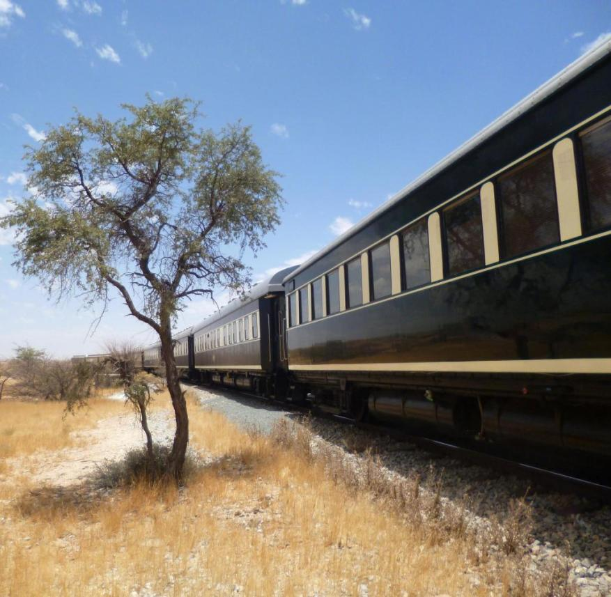 Africa by rail: The journey on the Rovos Rail train takes you through Tanzania, Zambia, Zimbabwe, Botswana and South Africa