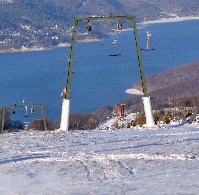North Macedonia: The Mavrovo ski area offers 25 kilometers of groomed slopes that are open from December to early April