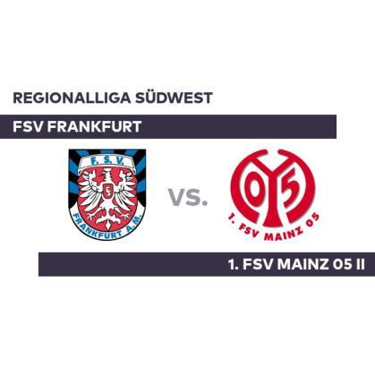 FSV Frankfurt – 1. FSV Mainz 05 II: Rösch takes the triumph at work – Regionalliga Südwest