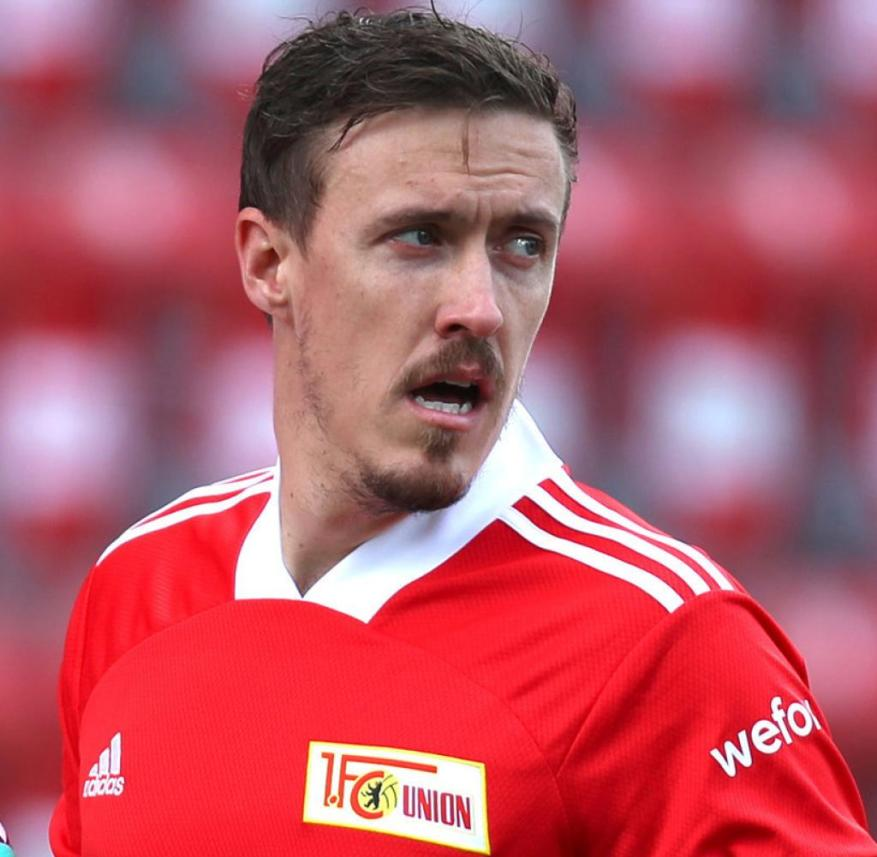 Union Berlin striker Max Kruse is the father of a ten-year-old son who lives with his mother in the United States