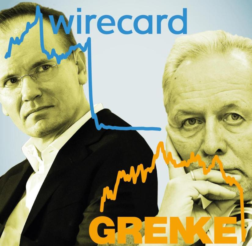 The scandals surrounding Markus Braun and Wirecard and Wolfgang Grenke and his company are linked by numerous similarities
