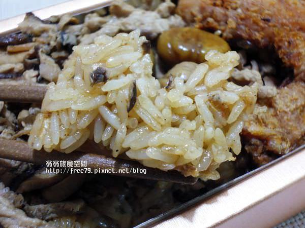 台中美食天子油飯,滿月油飯嚐鮮!