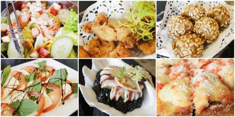內湖美食推薦 Aqua Kiss水吻2-Surfer意式餐廳,墨魚燉飯整好好吃啊!還有火山冰品喔!