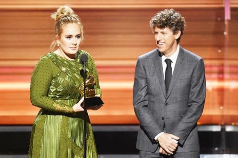 Adele and Greg Kurstin