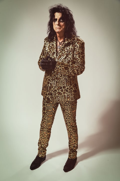 Alice Cooper on New 'Paranormal' LP, Caitlyn Jenner, Reuniting Old Band