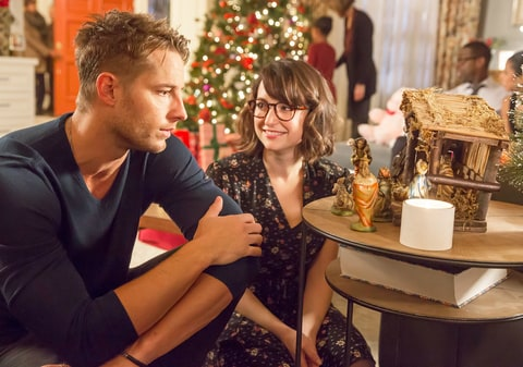 Justin Hartley as Kevin, Milana Vayntrub as Sloane