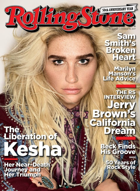 Kesha on Rainbow Tattoos Beating an Eating Disorder