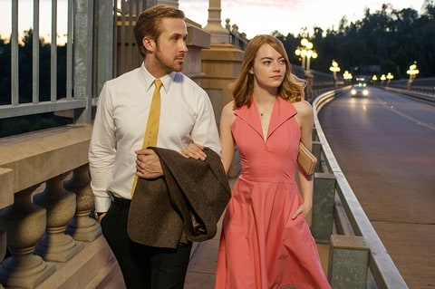 Image result for emma stone and ryan gosling lala land