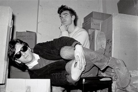 morrissey johnny marr the smiths rough trade records