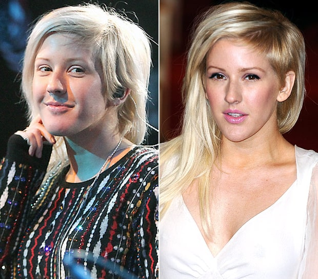 Ellie Goulding Natural Beauty Stars Without Makeup Us