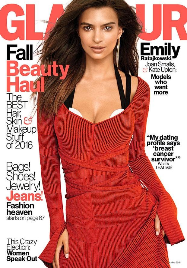 Emily Ratajkowski for Glamour
