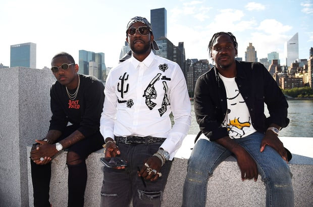 Fabolous, 2 Chainz and Pusha T