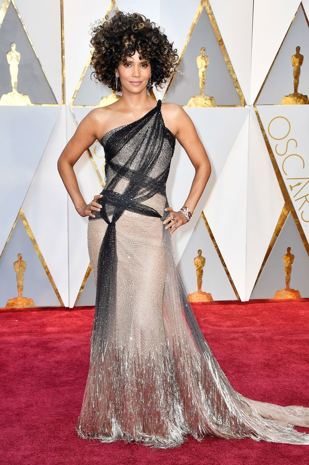 Image result for oscars fashion 2017 hally