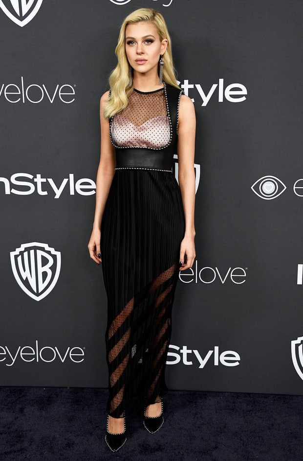 Image result for nicola peltz golden globes after party 2017