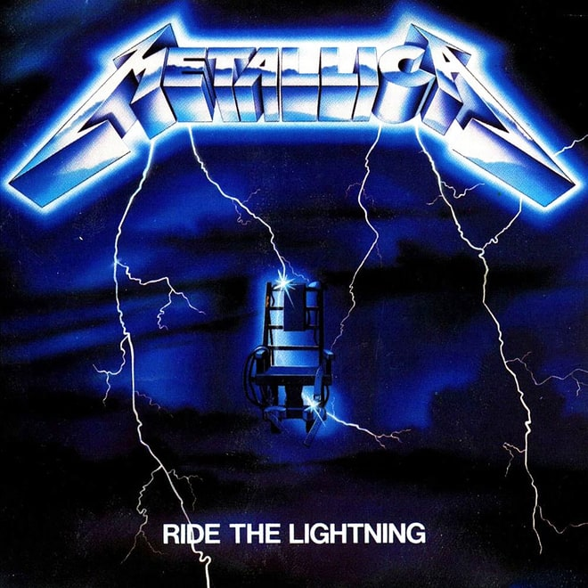 Metallica, 'Ride the Lightning' (1984)