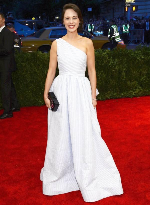Zooey Deschanel Met Gala 2013 Celebrity Costume Ball