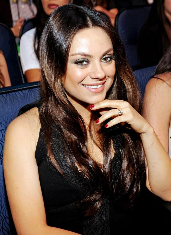Mila Kunis Celebrity Engagement Rings Of Time