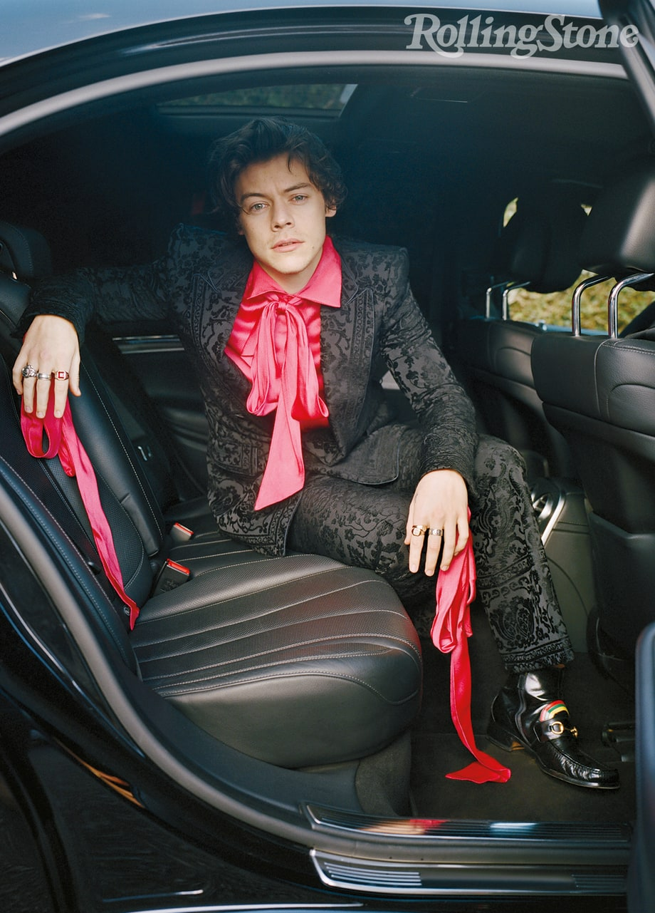 Pink Is Rock  Roll  Harry Styles Rolling Stone Cover