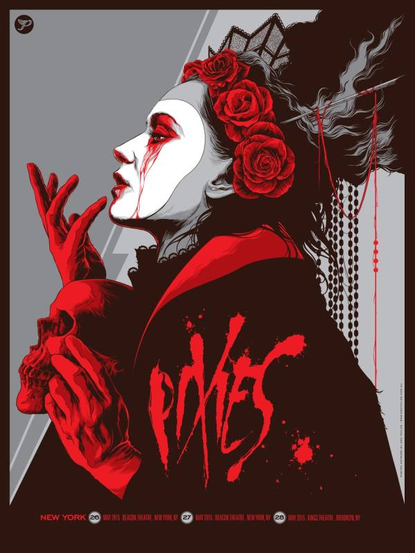 Pixies York 2015 Omg Posters Decade Of