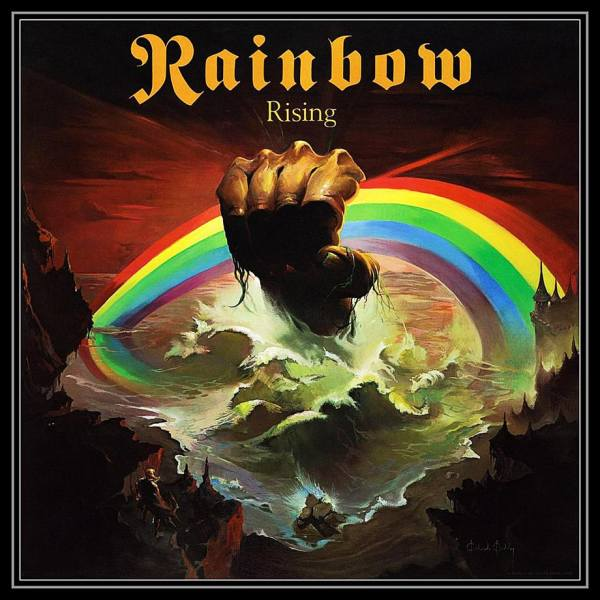 Rainbow Rising Album Cover