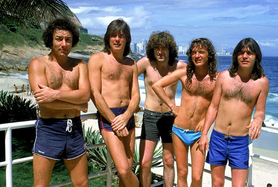 ACDC  Summer Jams Classic Photos of Rockers on the Beach  Rolling Stone