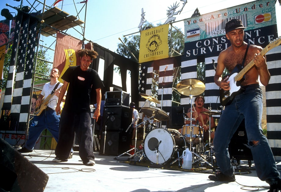 Rage Against the Machine Protests the PMRC 1993  20
