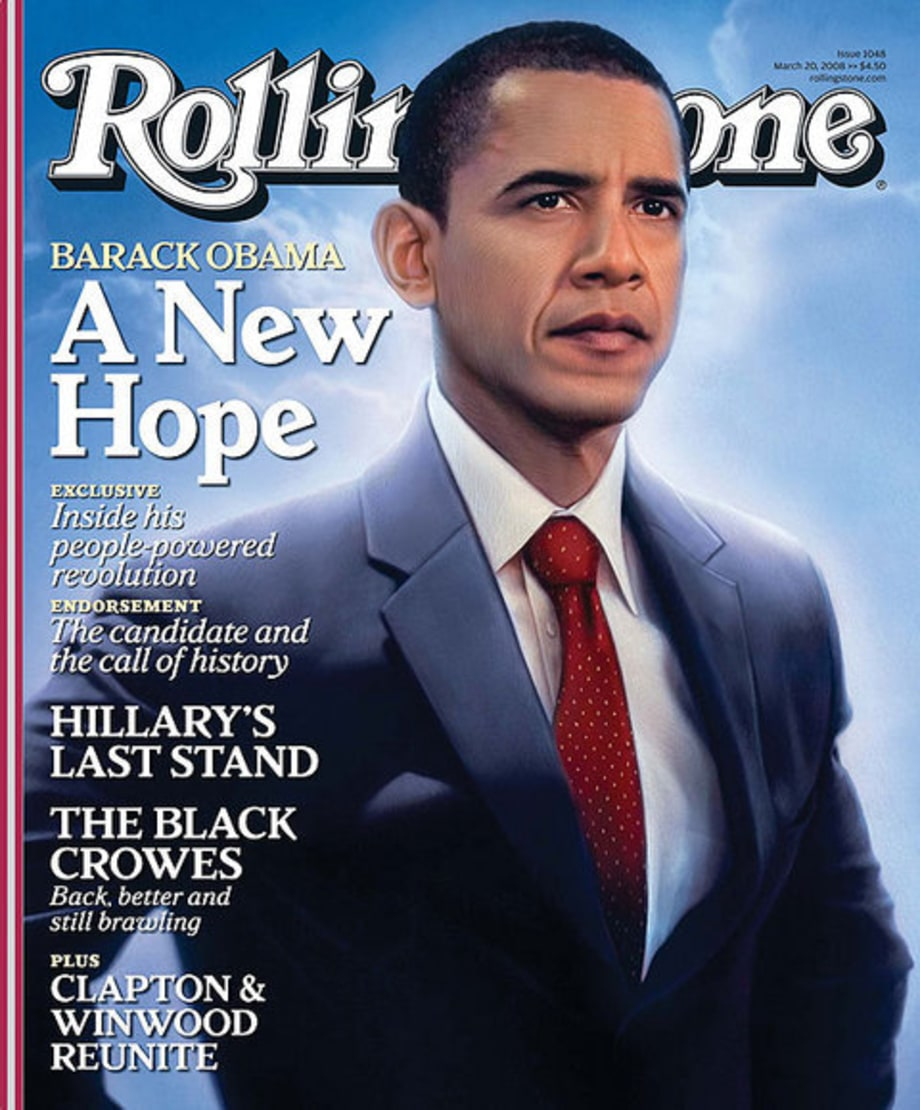 Rolling Stone Cover 1048 Barack Obama  2008 Rolling Stone Covers  Rolling Stone