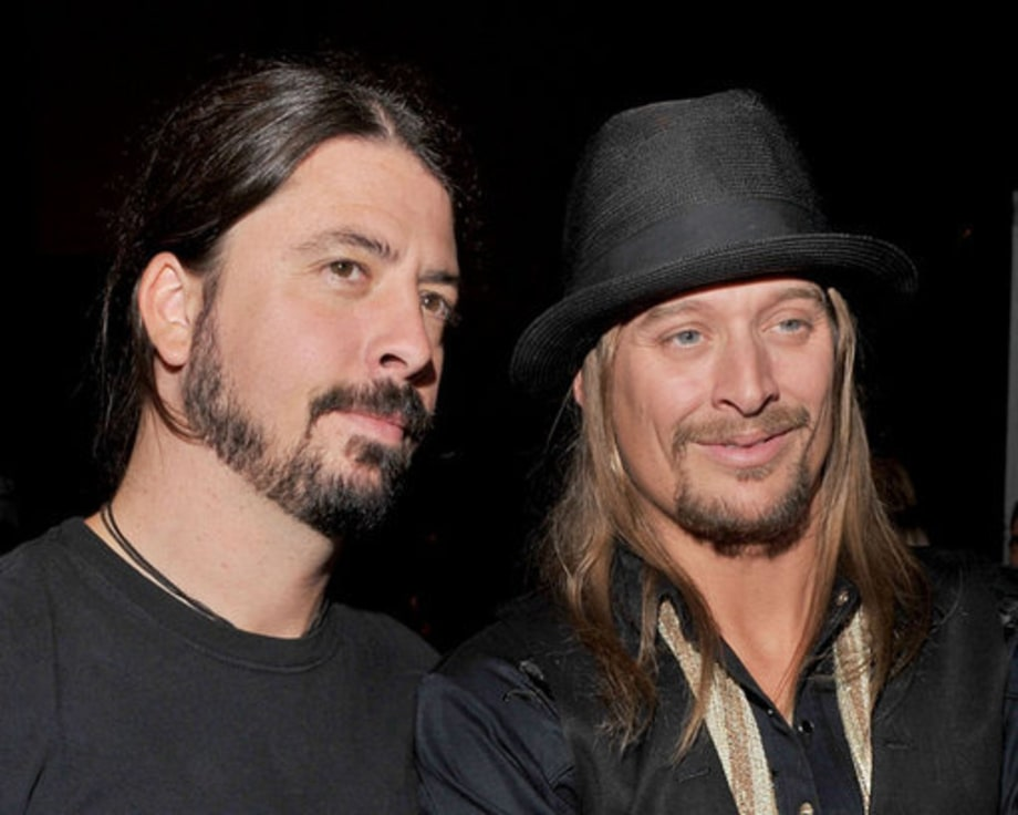 Kid Rock And Dave Grohl Rock Star Beards Rolling Stone